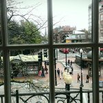 View of Harvard Square for Coop upper floor