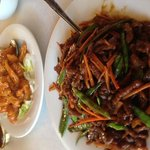 Shredded Beef and Pungent Chicken