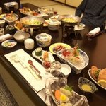 the food they served and Hakodate specialties