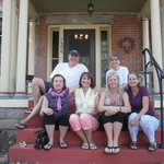 The wives with Bob & Barb at Florence Rose B&B