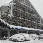 Il Residence innevato