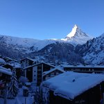 Morning Welcome with this impecable view of Matterhorn