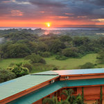 Sunset view at Costa Rica Yoga Spa