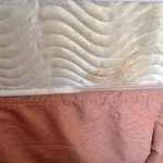 stain on mattress