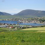 View from Lindisfarne Guest House to Stromness
