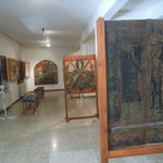 The icon of Agia Marina (the oldest in Cyprus)