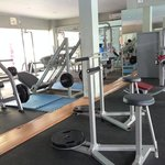 fitness area/ gym - lots of machines but they are also open to members (local & other residents)