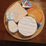 Delicious Normandie cheese for breakfast