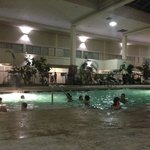 Indoor Pool. Large and popular with the kids.
