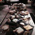 the cheese table