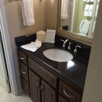 Vanity with Granite Countertop