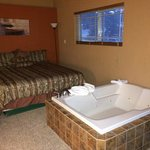 Room 22- tub and 1 of 2 beds