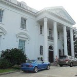 Parked right in front of the Old Governor's Mansion!