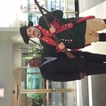 Anthony and a Reenactor