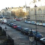 View of Great Pulteney Street from the Princess suite