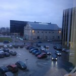 A view from the hotel room: The Museum of Estonian Architecture
