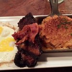 Brisket Steak and Eggs