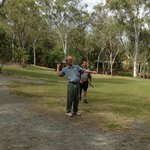 Dreamtime Education Centre throwing boomerang lessons