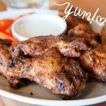 Spicy Chicken Wings with Blue Cheese Dipping Sauce