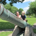 The big cannon has been a photo opp for my family for generations