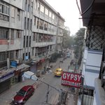 View of Chandni Chowk Street from my room