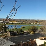 view of golf course from our 2nd floor casita room