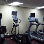 Gym with Life Fitness equipment