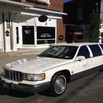 courtesy limo that brings you from local hotels