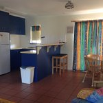 Unit 3 kitchen and dining area