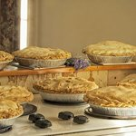 Homemade Pies using locally sourced organic fruit