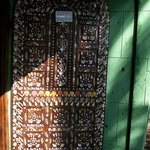 The entrance door.Photography was prohibitted inside