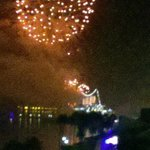 View of Fireworks from room