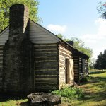 One of the former slave cabins.