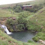 Karoo, our self appointed guide to blue pools
