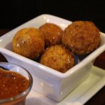 risotto arancini balls happy hour special