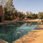 lovely pool at Auberge Derkaoua in December