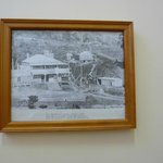Part of the historical photo display