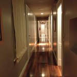 Nice hallway leading to rooms
