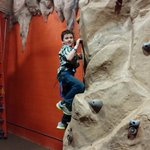 Rock Climbing in Action City at Metropolis City