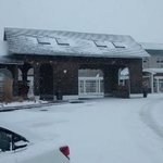 snow at the doubletree