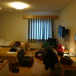Our room, junky only because of our stuff