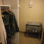 Extra large walk-in closets/storage