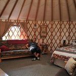 Foto van Sourdough Sue's Yurts