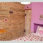 Chambre rose double standard