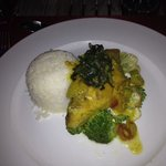 Curried Red Snapper