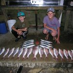 An hours fishing 100m off the boat ramp :-) (a few years ago)