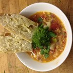 Homemade soups available frozen