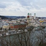 View of Passau from the Castle