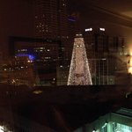 Great view of Indianapolis at Holiday Time