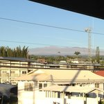 View of Mauna Kea from the second floor